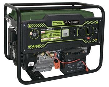 Бензиновый генератор GetEnergy GC55BE