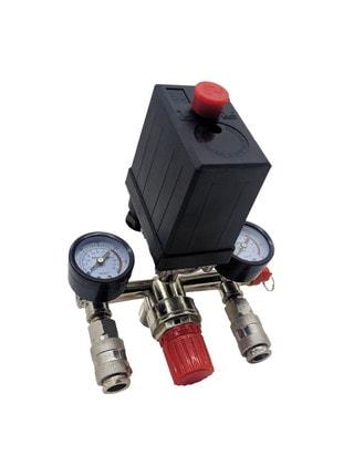 Автоматика для компрессора Forte поперечная (наружная резьба)