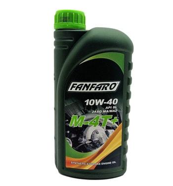 Моторное масло FANFARO 10W-40 M-4T+ (1 литр)