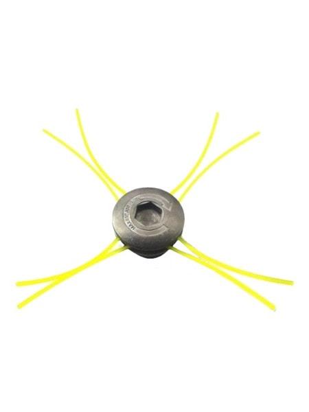 Косильная головка для мотокос на 8 выходов /алюминиевая/