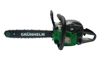 Бензопила Grunhelm GS62-18/2 Professional /2 шины и 2 цепи/
