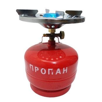 Балон с газовой горелкой Sigma для кемпинга