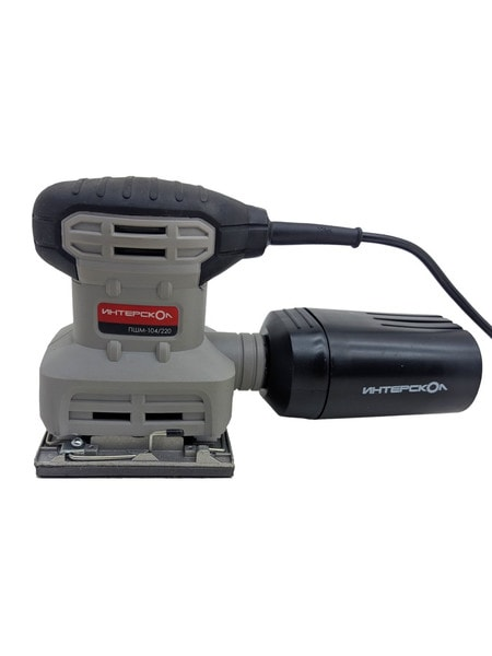 Шлифмашина вибрационная Интерскол ПШМ-104/220