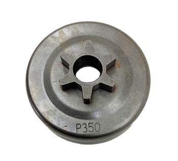 Тарелка сцепления цельная для бензопилы Partner 350