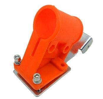 Держатель защитного кожуха для  мотокосы Ø26 мм
