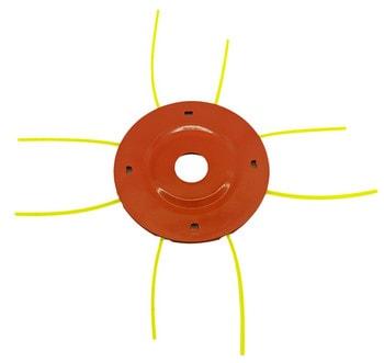 Косильная головка металлическая для мотокосы (паук)