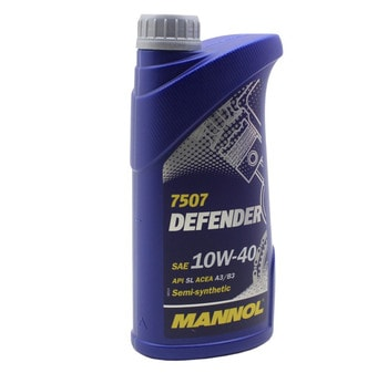 Моторное масло Mannol 4т 10w-40 (1 литр)
