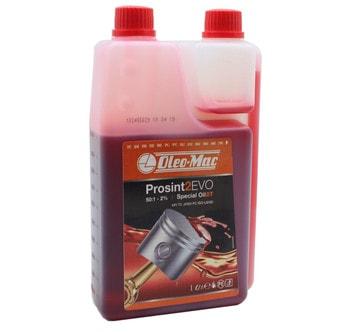 Моторное масло Oleo-Mac для двухтактных двигателей, мерное (1 литр)