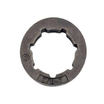 """Звёздочка-кольцо цепи 3/8"""" для бензопилы (большая посадка)"""