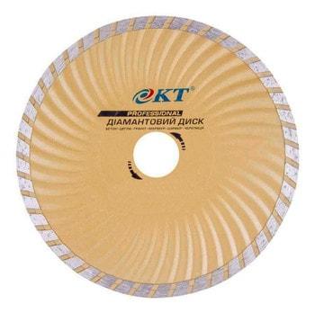 Диск алмазный КТ PROFI 180 мм Турбоволна