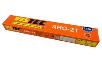 Электроды сварочные Vistec АНО-21 (3.0 мм, 2,5 кг)