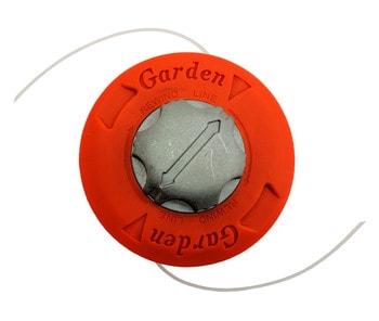 Косильная головка GARDEN для мотокосы, автоматическая (металл. кнопка)