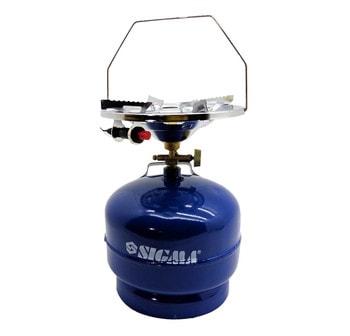 Газовый комплект для кемпинга с пьезоподжигом Sigma Comfort