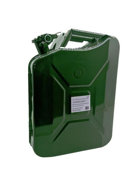 Канистра металлическая зеленая 20 литров