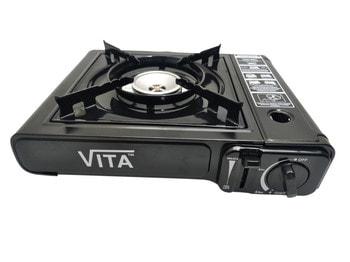 Плита газовая портативная VITA MS-2500LGP с адаптером